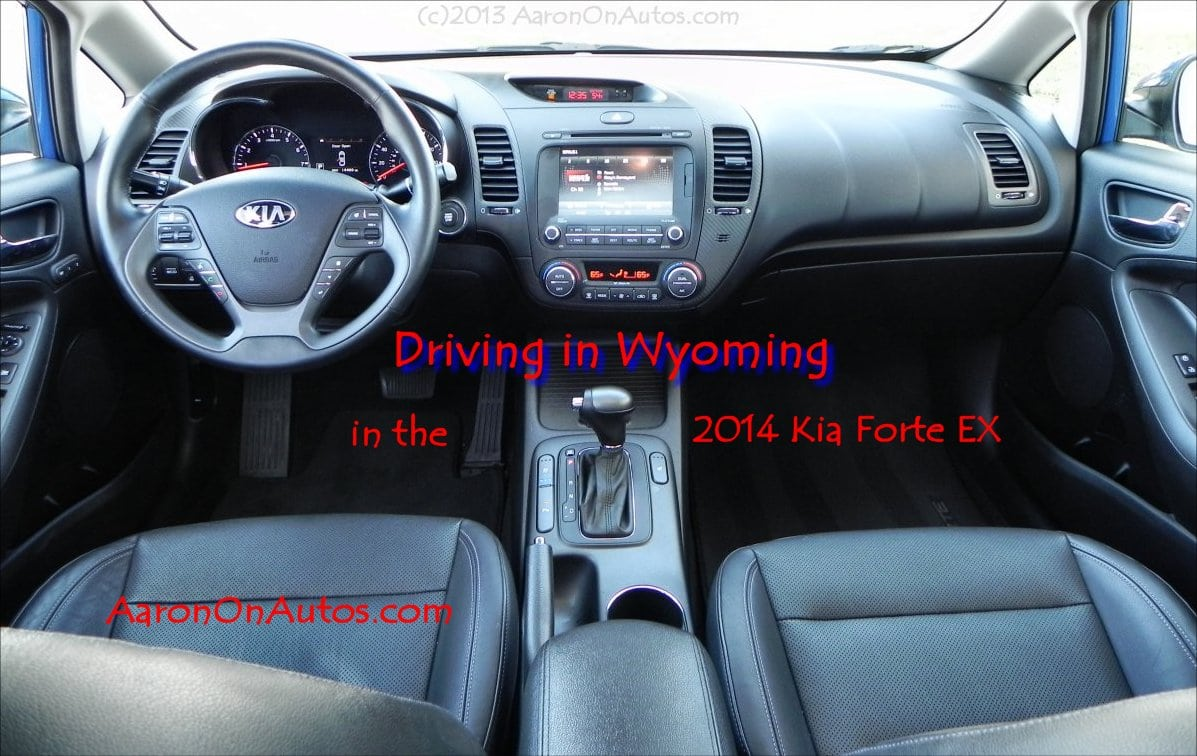 Driving in Wyoming in the 2014 Kia Forte EX – interior review