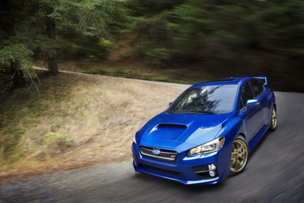 2015 Subaru WRX STI debuts at NAIAS