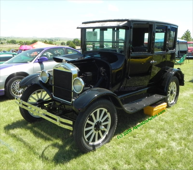 1927 Ford Model T – the last of a line of early fuel efficient trend setters