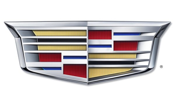 Cadillac changes its crest