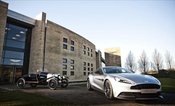 Aston Martin celebrates 100 years of excellence [video]
