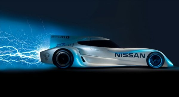 If the ZEOD RC has an engine, is it really a Nissan LEAF race car?