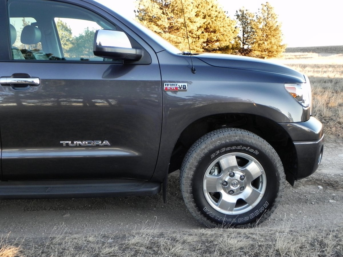 2013 Toyota Tundra TRD – big, beefy, and soft
