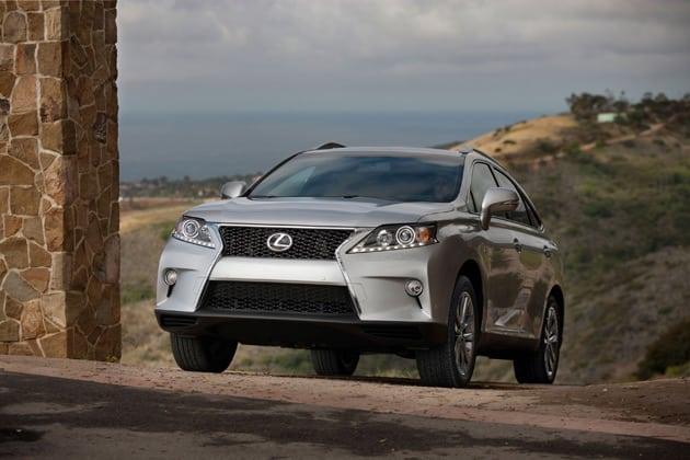 2014 Lexus RX 350 F-Sport Continues The RX Legacy Of Posh Fun