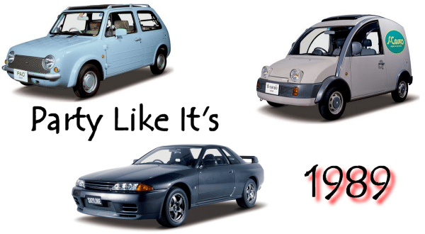 3 Awesome Nissan cars from 1989 you can now import