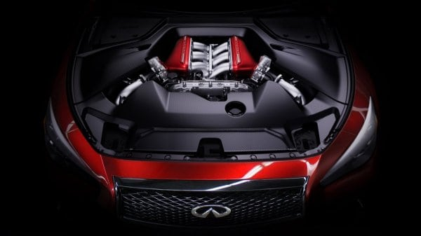 Infiniti Eau Rouge had V8, diesel and hybrid powertrains