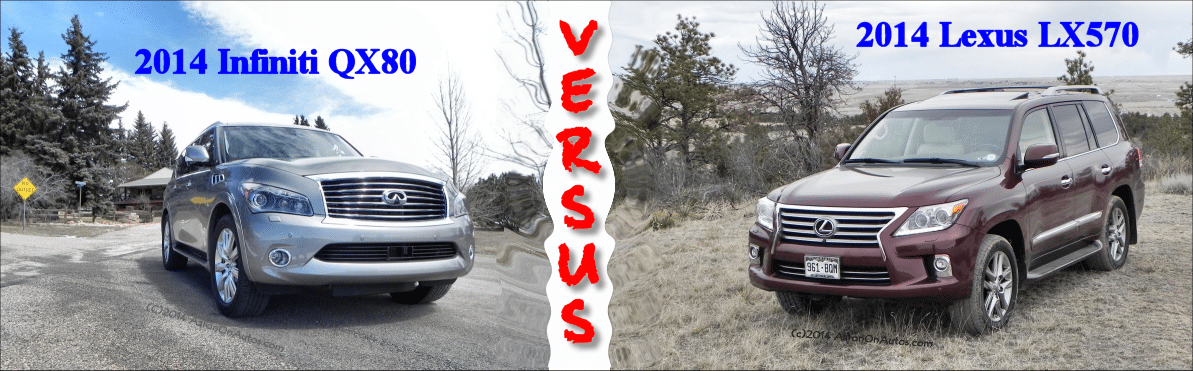 Lexus vs Infiniti – the LX570 takes on the QX80