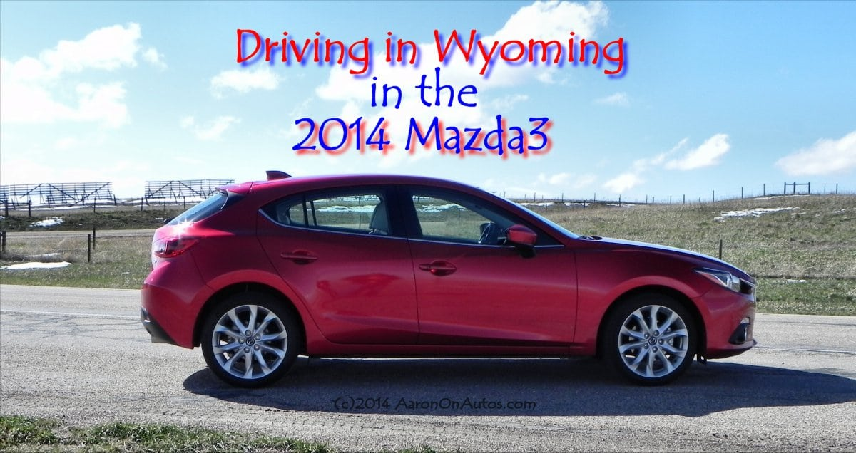 2014 Mazda3 Driving in Wyoming