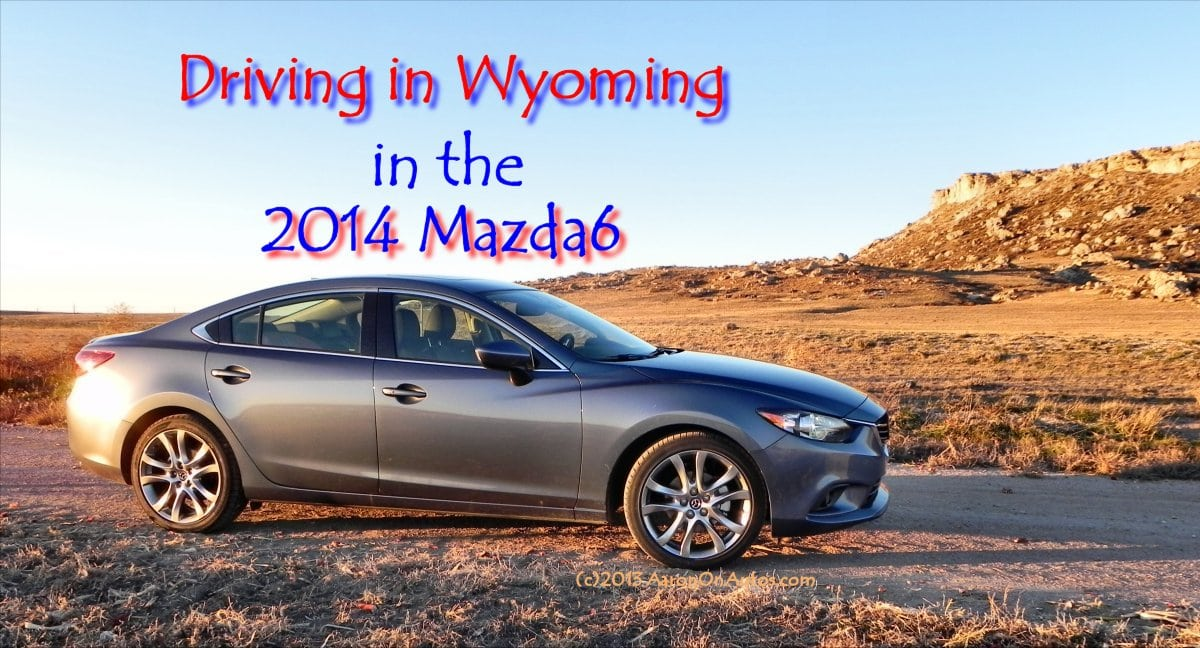2014 Mazda6 Driving in Wyoming