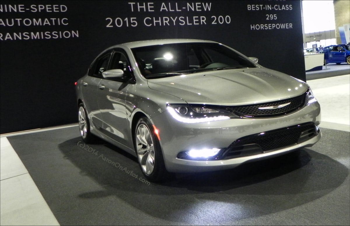 2015 Chrysler 200 Sedan gives a great first impression