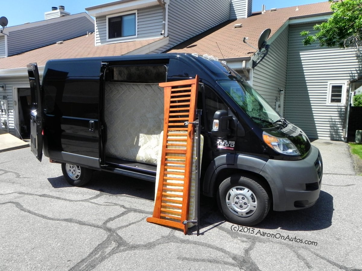 2014 Ram 1500 ProMaster Cargo – designed for work in a working world