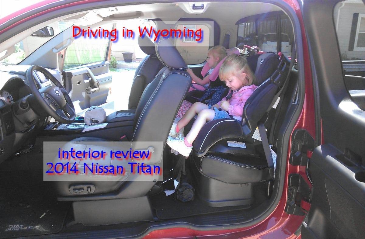 2014 Nissan Titan shaky cam interior review