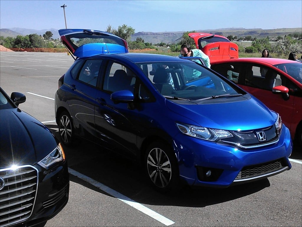 2015 Honda Fit first drive impression shows it's comparable