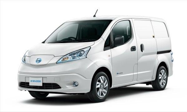 Portland becomes test market for Nissan e-NV200 electric van