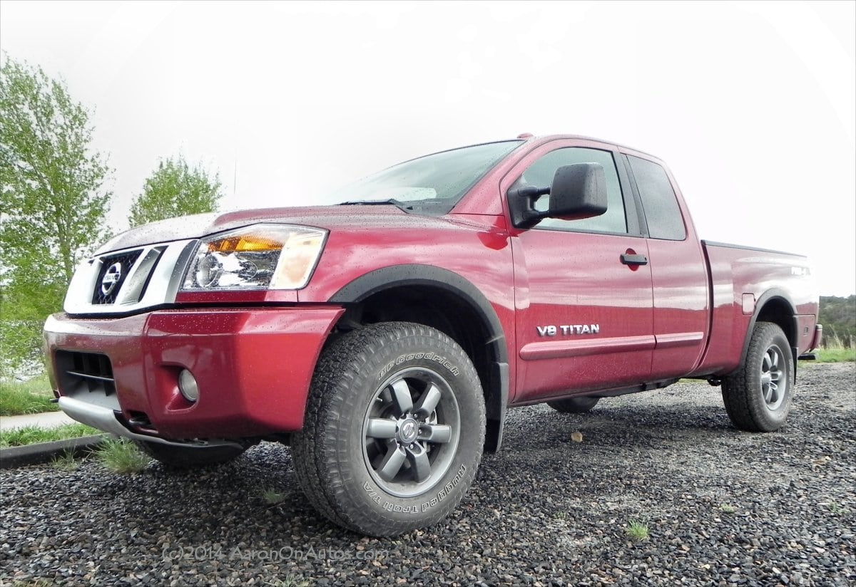 2014 Nissan Titan Pro-4X is an aging, but still competent pickup