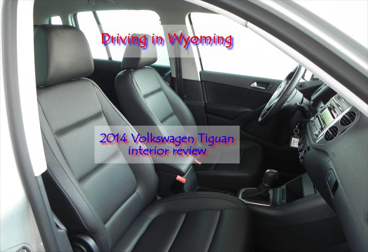 2014 Volkswagen Tiguan interior review