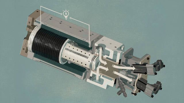 Free piston engine is like a shaker light for your hybrid