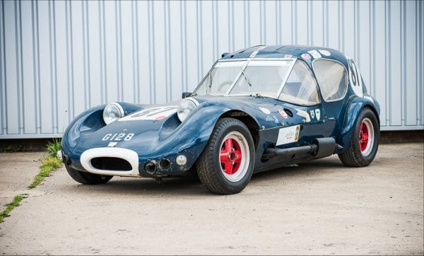 Marcos GT Xylon, race legend Jackie Stewart's first race car, to auction