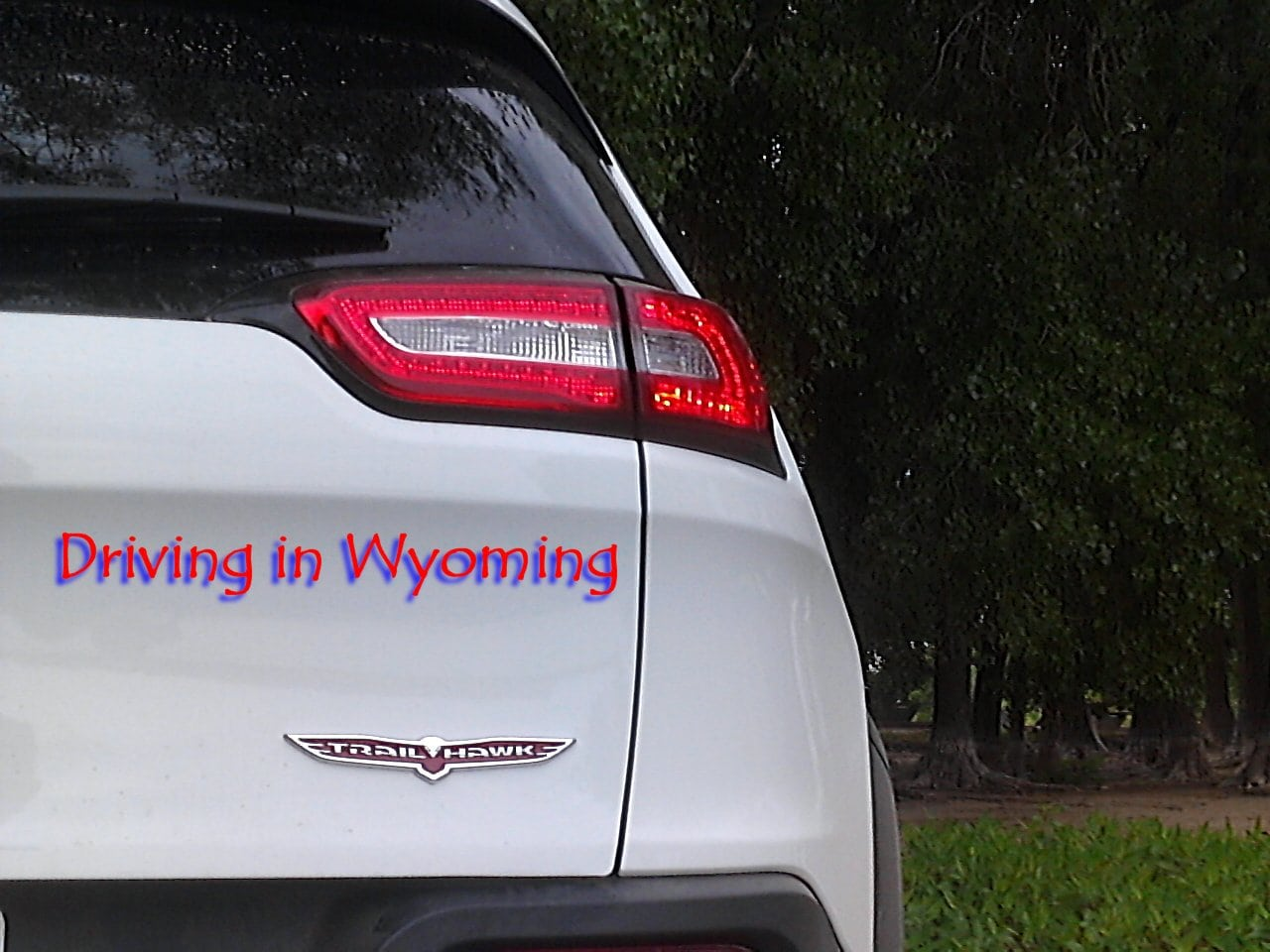 2014 Jeep Cherokee Trailhawk Driving in Wyoming Quick Poll