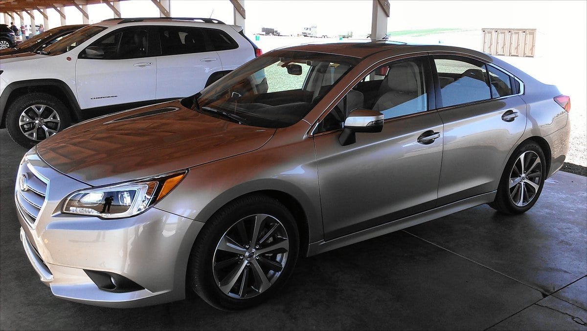 2015 Subaru Legacy first impression is a good one