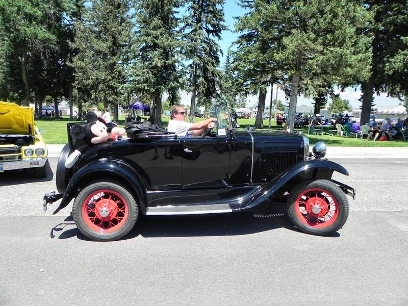 2014 Pine Bluffs Trail Days Car Show gallery