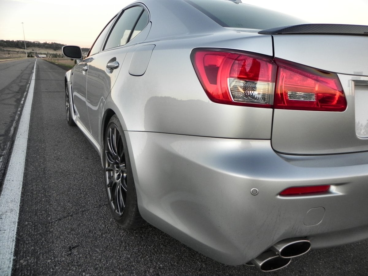 2014 Lexus IS-F – A Sleeper Car Being Put Out To Pasture