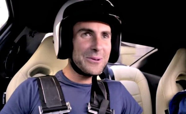 Can Adam Levine Sing The New Maroon 5 Single While Being Given the Full Nissan GT-R Treatment?