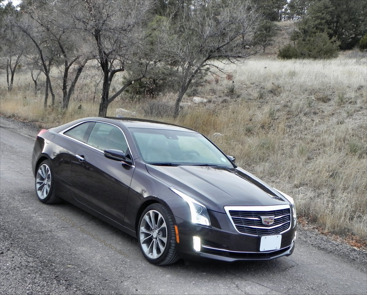 2015 Cadillac ATS Coupe – Pimpin' In A Purple Caddy