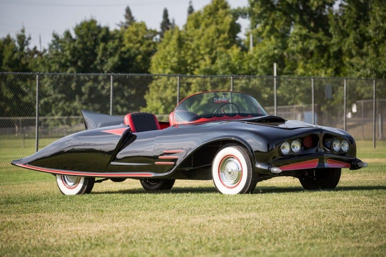 First Official Batman Car Up for Auction