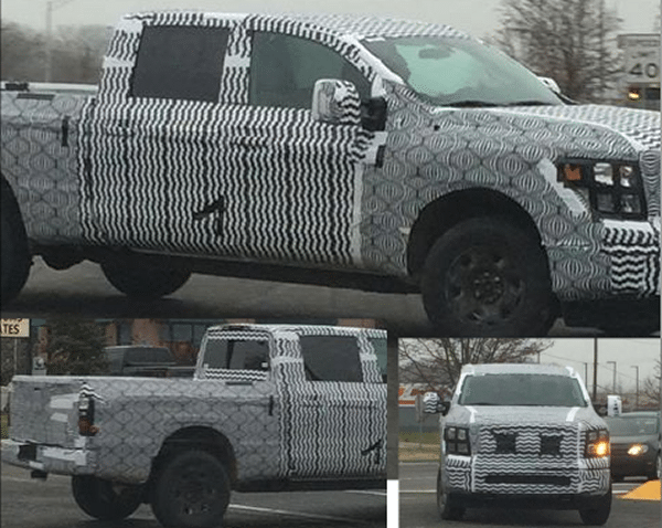 Did Someone on Facebook Just Capture the 2016 Nissan Titan Diesel Testing?