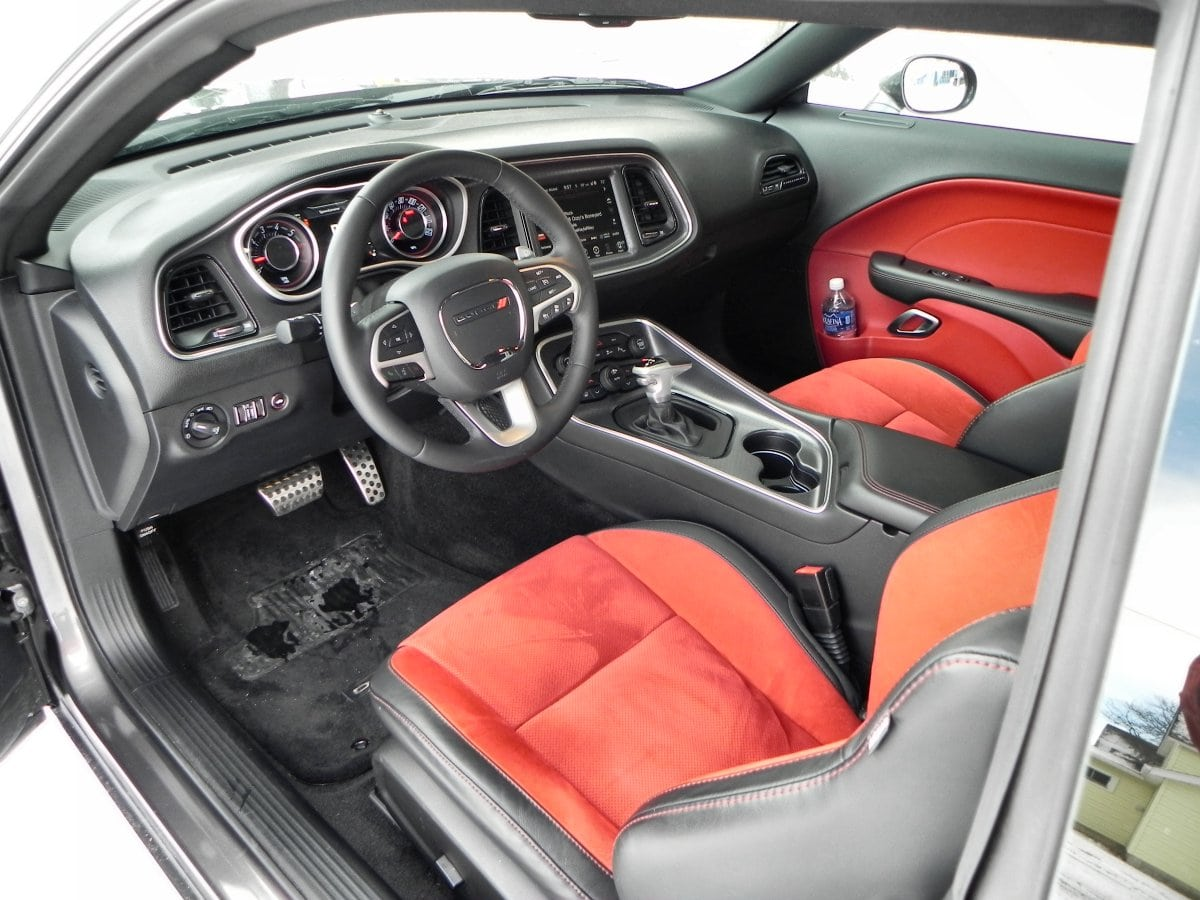 2015 Dodge Challenger R T Interior Review Aaron On Autos
