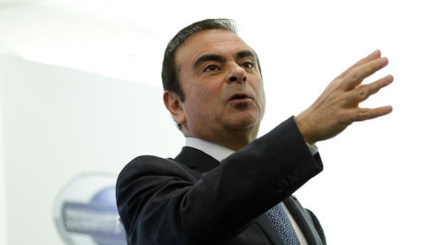 Ghosn's Vision for Autonomous Cars and Electrics