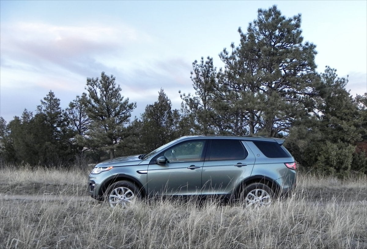 2015 Land Rover Discovery Sport is great on and off the road