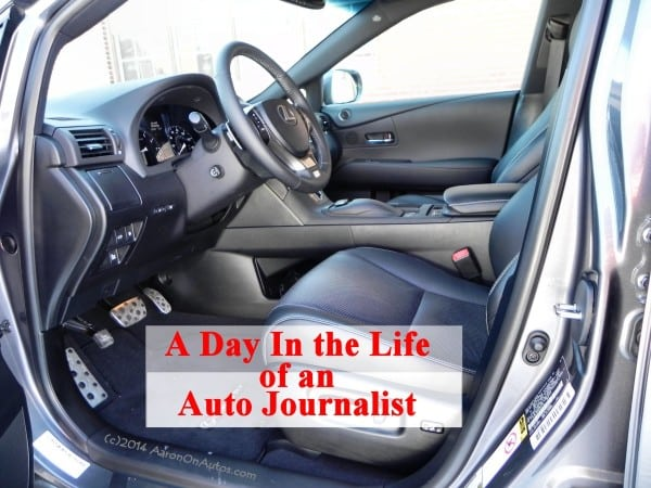 They Gave Me a Lexus for My Birthday! A day in the life of an automotive journalist