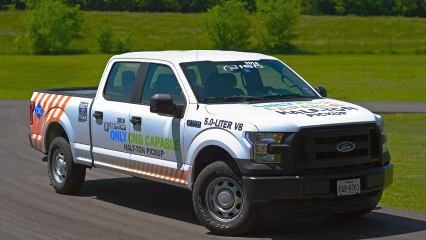2016 Ford F-150 To Be CNG/Propane Ready