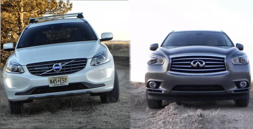 Volvo XC60 vs Infiniti QX60 – Saturday Showdown