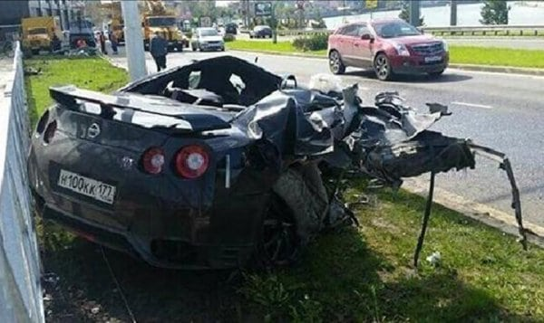 How Safe is the Nissan GT-R? Ask a Russian Soccer Player