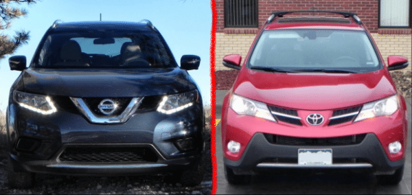 2015 Nissan Rogue vs 2015 Toyota RAV4 – which is really more sensible?