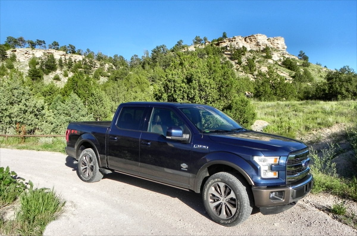 2015 Ford F-150 King Ranch is Comfortable Aluminum Muscle