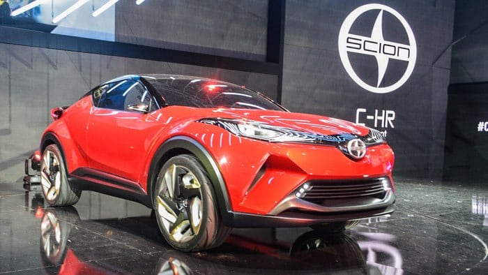 Scion unveils new-ish C-HR Concept, inspired by chopsticks and cutting boards