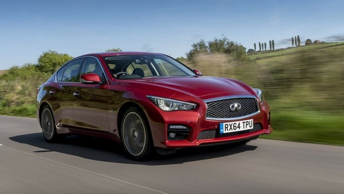 2016 Infiniti Q50 sports sedan debuts new engines, next-gen adaptive steering