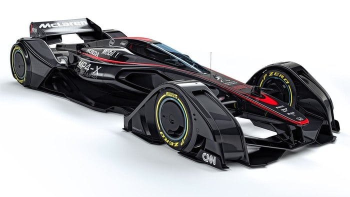 McLaren looks to the future of Formula One with MP4-X concept