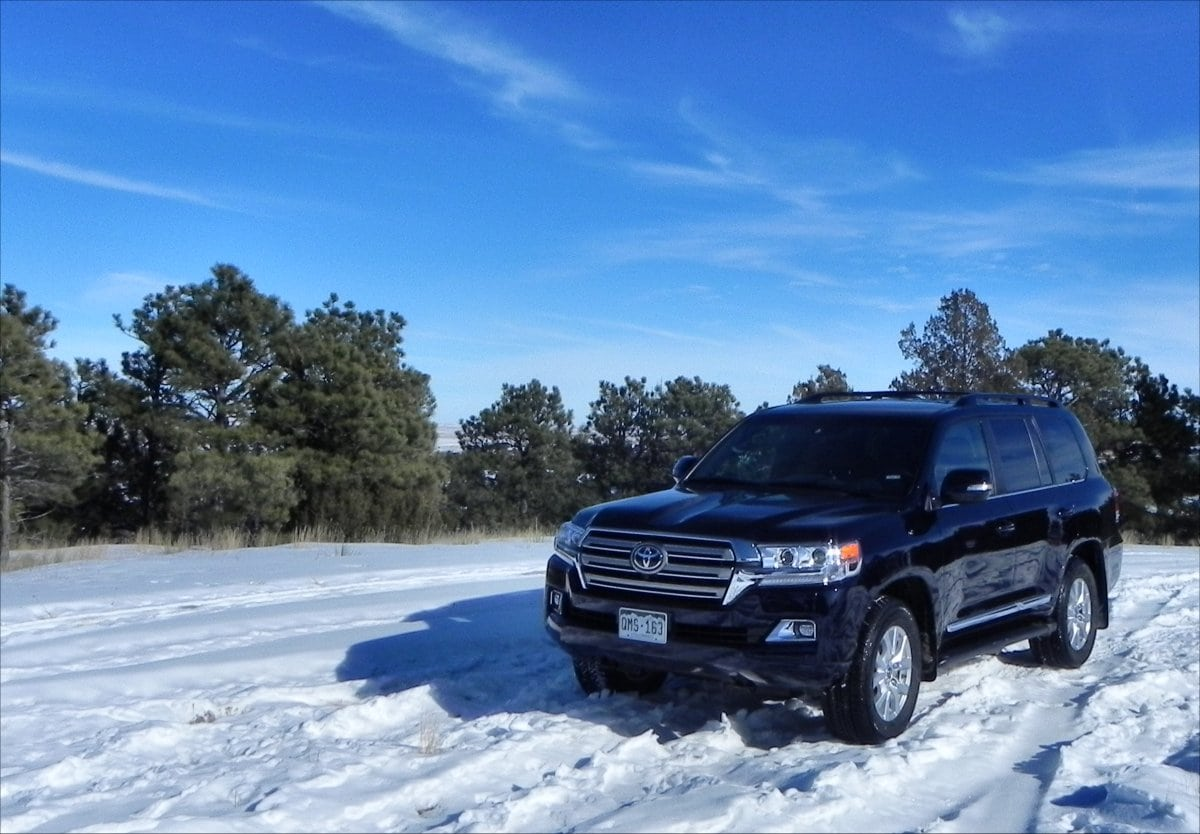 The 2016 Toyota Land Cruiser Lives Up To Its Name