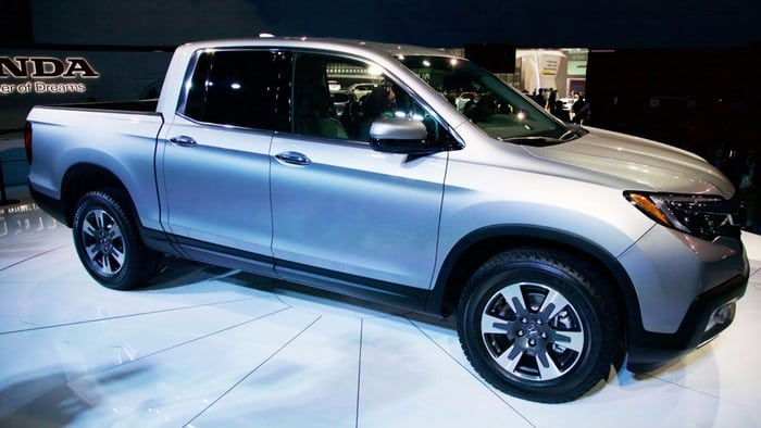 Honda goes truckin' with new Ridgeline at NAIAS