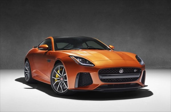 Jaguar F-Type SVR Will Debut in Geneva
