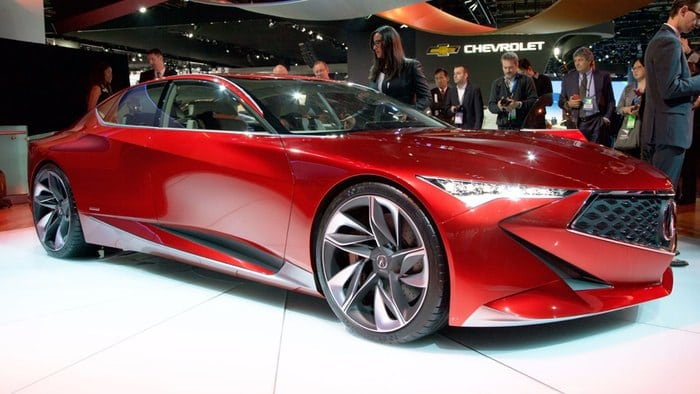 Acura Precision Concept crafts a new diamond at NAIAS