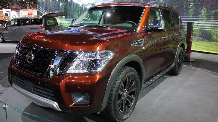 All-new 2017 Nissan Armada family hauler debuts in Chicago
