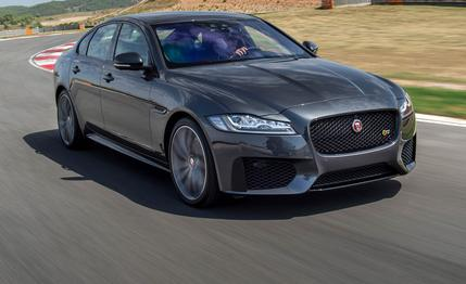 The 2016 Jaguar XF Is The Smaller, Faster Jag Sedan