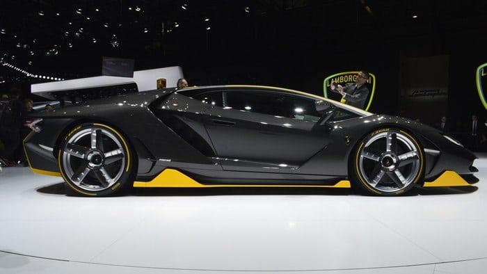 Lamborghini Centenario celebrates Ferruccio's 100th at Geneva