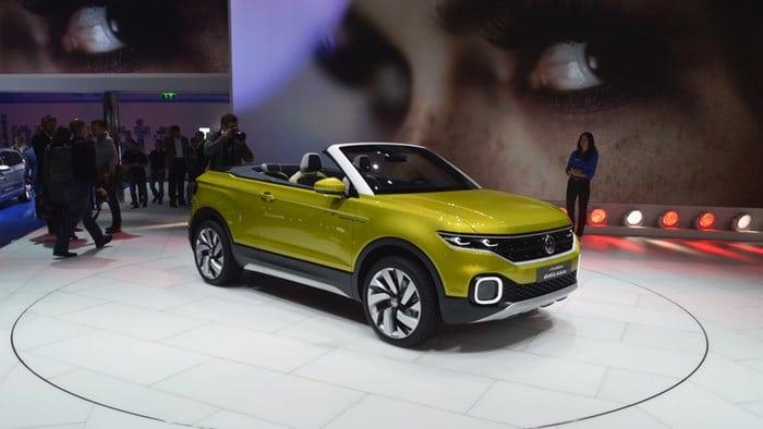 Volkswagen unveils T-Cross Breeze convertible SUV at Geneva